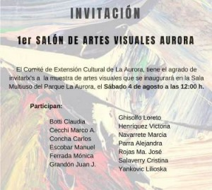 salon artes visuales